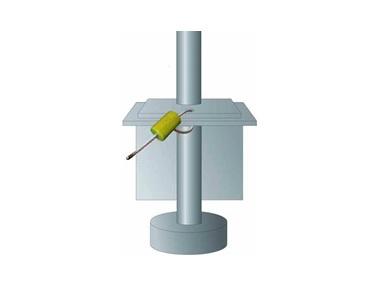 """Схема установки ЗПУ """"БЛОК-ГАРАНТ М"""" на крышке разгрузочного люка вагона-хоппера для цемента"""